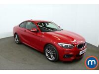 2019 BMW 2 Series 220d xDrive M Sport 2dr [Nav] Step Auto Coupe Diesel Automatic