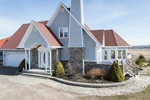 Gorgeous custom home with income suite in Memramcook