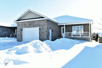 Newly built, detached 3 bed, 2 bath bungalow by Calypso!
