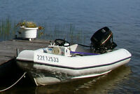 1998 Logic Marine, Logic 12 with 25HP Outboard & Trailer