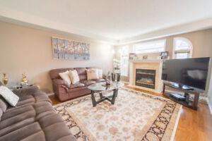 DETACHED HOUSE w/ FINISHED BASEMENT FOR RENT - MARCH 1 WHITBY
