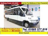 2006 - 56 - IVECO DAILY 50C14 3.0HPI 15 SEAT DISABLED ACCESS MINIBUS GUIDE PRICE