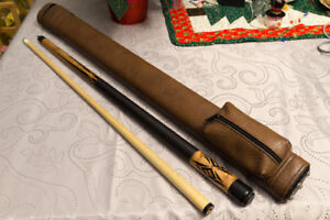 Viking Pool Cue and Giuseppe Case