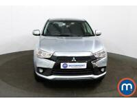 2017 Mitsubishi Asx 1.6 3 5dr Estate Petrol Manual