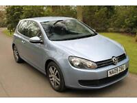 2009/09 Volkswagen Golf 1.4 TSI 2009MY SE 78k miles, FSH,, 5 seats, Blue, 2 KEYS
