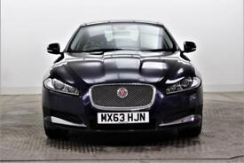 2014 Jaguar XF D LUXURY Diesel blue Automatic