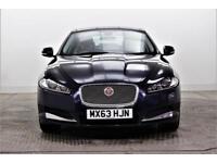 2014 Jaguar XF D LUXURY Diesel blue Automatic