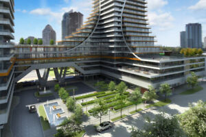 EDS Condo for rent in Modern Waterfront Community in Mimico!