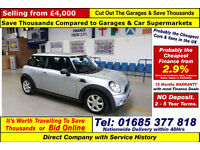 2010 - 10 - MINI ONE 1.6 PETROL 3 DOOR HATCHBACK (GUIDE PRICE)