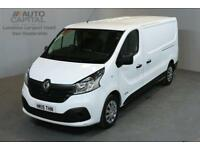 RENAULT TRAFIC 1.6 LL29 BUSINESS PLUS 115 BHP L2 H1 LWB LOW ROOF A/C SAT NAV