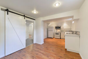 Two-bedroom basement suite on West End. Utilities included!