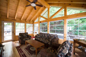 Windows for screen porch by Cottage Country Sunrooms