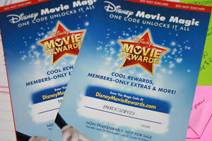 Disney Movie Reward Codes