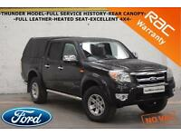 2009 Ford Ranger 2.5TDCi XLT THUNDER-FULL SERVICE HISTORY-LEATHER-CANOPY-NO VAT-