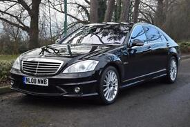 MERCEDES-BENZ S63 AMG 6.2 L 7G TRONIC, FMBSH, 45,000 MILES ONLY