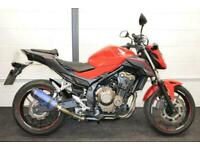 HONDA CB500 F ABS ** Low Mileage - Aftermarket Exhaust - Rear Hugger **