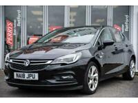 2018 Vauxhall Astra 1.0T ecoTEC SRi 5dr Hatchback Hatchback Petrol Manual