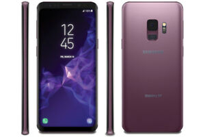 LIKE NEW-128B PURPLE Samsung Galaxy S9 With All ACCESSORIES