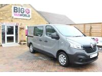 e597a36146 2016 RENAULT TRAFIC SL27 DCI 115 BUSINESS DOUBLE CAB 6 SEAT CREW VAN SWB  LOW ROO