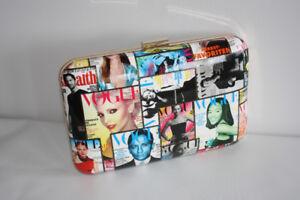 Vogue Hard Shell Clasp Purse
