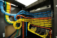 PROFESSIONAL NETWORK CABLING | NETWORK SETUP | SECURITY CAMERAS