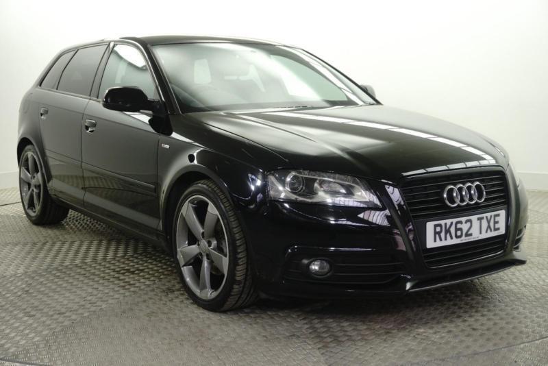 2012 Audi A3 SPORTBACK TDI S LINE SPECIAL EDITION Diesel black Manual