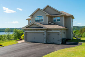 Absolutely gorgeous 4 bed, 5 bath home with River View