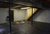 Wanted: Basement Construction Needed