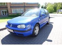 2002 Volkswagen Golf 1.6 left hand drive lhd Spanish Registered