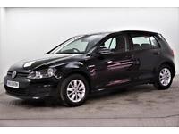2015 Volkswagen Golf BLUEMOTION TDI Diesel black Manual