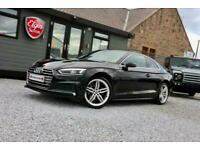 2018 Audi A5 Quattro S Line 2.0 TDI S Tronic 2dr ( 190 bhp ) COUPE Diesel Automa