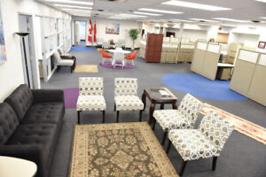Low Rent Private Office Space. Fully Furnished. Ready to Start
