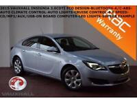 2015 Vauxhall/Opel Insignia 2.0CDTi(120ps) ecoFLEX (s/s) Design-BLUETOOTH-CRUISE