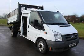 Ford Transit 2.4TD D/C Crewcab Tipper TRUCK 350 59 Reg Tool Store £8,995 + VAT