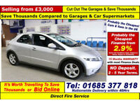 2010 - 10 - HONDA CIVIC SE 2.2I-CTDI 5 DOOR HATCHBACK (GUIDE PRICE)