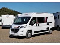 NEW 2019 RollerTeam Toleno R Camper Van, 4 berth, fixed rear bed,