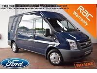 2010 Ford Transit 2.2TDCi T280-ELECTRIC PACK-HEATED SCREEN-B/TOOTH-NO VAT-