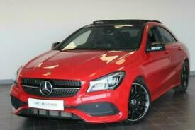 image for 2018 MERCEDES CLA CLA 220 D AMG LINE NIGHT EDITION PLUS Auto Saloon Diesel Autom