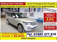 2013 - 13 - LAND ROVER RANGE ROVER AUTOBIOGRAPHY V8 SUPERCHARGED 5.0 PETROL 4X4