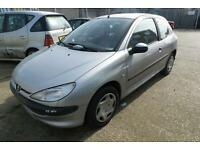 Peugeot 206 1.4 ( a/c ) 2000MY LX SPARES OR REPAIR CALL 01992 468 146