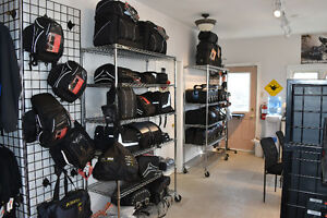 Motorcycle travel bags now %25 off at Halifax Motorsports