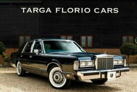 1986 Lincoln Town Car 4.6 V8 Saloon Automatic Saloon Petrol Automatic