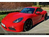 2017 Porsche 718 CAYMAN 2.5 S - DUE IN - PORSCHE UK WARRANTY UNTIL NOV 2021 Coup