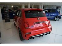 2018 Abarth 500 1.4 T-Jet Competizione 3dr Petrol red Manual