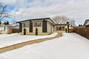 Large Renovated Bungalow in Sherwood Park on a Gorgeous Lot!