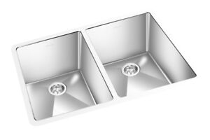 Rectangular Stainless Steel Sink AKCRC-4141 double bowl