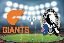 GWS Giants v Collingwood - $10 each 8 Adult Tickets Sydney City Inner Sydney Preview