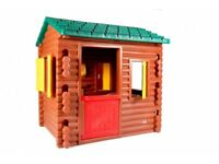 Little Tikes Log Cabin (Out door play house Used)