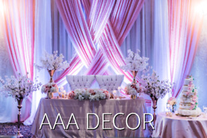 WEDDINGS AND EVENT'S DECORATION