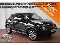 2013 Nissan Juke 1.5dCi (110ps) Tekna-LEATHER-SAT NAV-B.TOOTH-REV. CAMERA-F.S.H.
